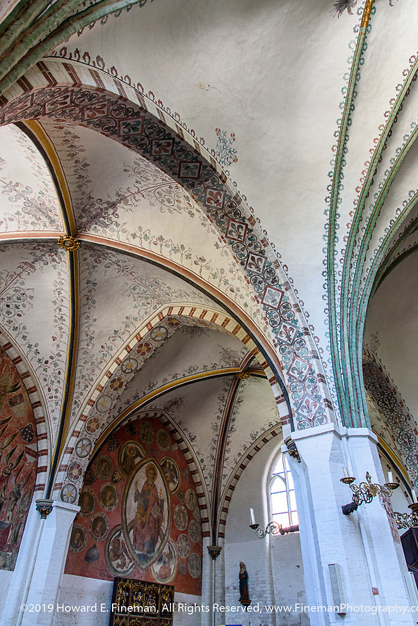 Former Church of the Holy Ghost in Lubeck, Germany