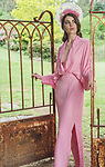 Sunday Mail Fashion with Mirella. Melbourne Cup Meets Romantic Garden - 98 Turners Gully Road, Clarendon, Model- KATE  from Adelaide Model Management.  Photo: Nick Clayton.