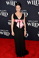"LOS ANGELES, CA: 13, 2020: Cara Gee at the world premiere of ""The Call of the Wild"" at the El Capitan Theatre.<br /> Picture: Paul Smith/Featureflash"