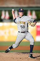 May 14, 2009: Sam Runion (50) of the Burlington Bees at Elfstrom Stadium in Geneva, IL.  Photo by: Chris Proctor/Four Seam Images
