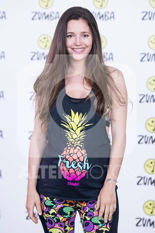 Malena Costa during the presentation of Zumba Academy at Momo Caja Magica in Madrid, Spain. March 19, 2017. (ALTERPHOTOS/BorjaB.Hojas)