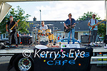 Midnight Cafe playing to the residents of Connolly Park on Saturday as part of a fundraiser for the Kerry Mental Health Association