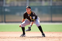Pittsburgh Pirates Will Craig (35) during an Instructional League Intrasquad Black & Gold game on September 20, 2016 at Pirate City in Bradenton, Florida.  (Mike Janes/Four Seam Images)