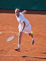 08-07-13, Netherlands, Scheveningen,  Mets, Tennis, Sport1 Open, day one, Sander Groen (NED)<br /> <br /> <br /> Photo: Henk Koster