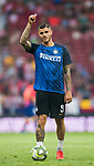 Icardi Mauro Emanuel of FC Internazionale prior to their International Champions Cup Europe 2018 match between Atletico de Madrid and FC Internazionale at Wanda Metropolitano on 11 August 2018, in Madrid, Spain. Photo by Diego Souto / Power Sport Images