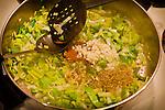 4.15.11 - Tofu Scramble - Add leeks, sea salt, garlic, paprika, oregano and red pepper flakes...