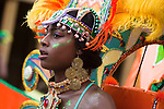 The DC Caribbean Carnival is held annually in Washington, DC.  Launched by a large Caribbean-style parade with dancers in traditional Caribbean carnival costumes, the festival promotes and educates the community about Caribbean arts, crafts, and culture.