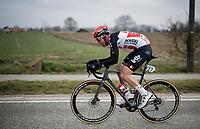 Tim Wellens (BEL/Lotto-Soudal) chasing<br /> <br /> 76th Omloop Het Nieuwsblad 2021<br /> ME(1.UWT)<br /> 1 day race from Ghent to Ninove (BEL): 200km<br /> <br /> ©kramon