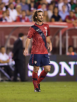 Kyle Beckerman. The USMNT tied Mexico, 1-1, during their game at Lincoln Financial Field in Philadelphia, PA.