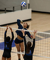 Autumn Jordan (25) goes up for the kill against Rogers at Rogers High School, Rogers, AR, on Thursday, September 9, 2021 / Special to NWADG David Beach