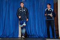 Wycombe Wanderers recent signing, Dayle Southwell, during the 2016/17 Kit Launch of Wycombe Wanderers to the public at Adams Park, High Wycombe, England on 10 July 2016. Photo by David Horn.