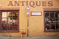 Quebec (QC) CANADA - Sept 5 2009 -- antique shops