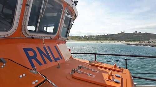 Aran Islands RNLI's all-weather lifeboat Margaret, Joan and Fred NYE
