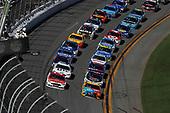 2017 NASCAR Cup - Daytona 500<br /> Daytona International Speedway, Daytona, FL USA<br /> Sunday 26 February 2017<br /> Ryan Blaney, Kyle Busch, M&M's Toyota Camry<br /> World Copyright: Michael L. Levitt/LAT Images<br /> ref: Digital Image levitt-0217-D500_45738