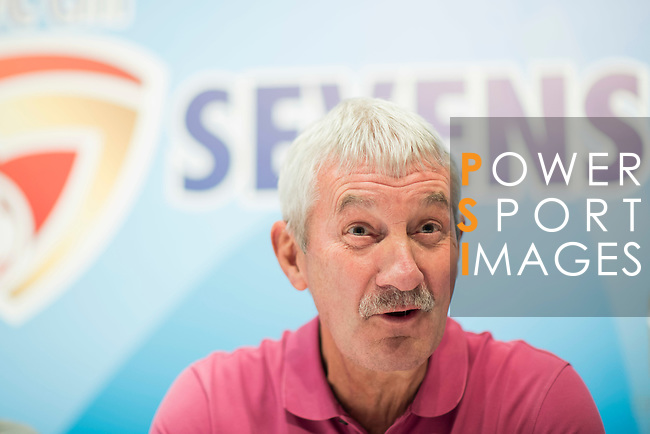 Terry McDermott, former Liverpool football player, attends the press conference for the HKFC Citi Soccer Sevens Hong Kong 2017 at the Hong Kong Football Club on 07 February 2017 in Hong Kong, China. Photo by Victor Fraile / Power Sport Images