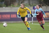 Vivianne Miedema of Arsenal during West Ham United Women vs Arsenal Women, Women's FA Cup Football at Rush Green Stadium on 26th January 2020