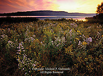 Sunset on Glendale Lake, Prince Gallitzin State Park, Pennsylvania