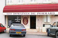 wine shop les domaines de pommard pommard cote de beaune burgundy france