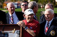 The official ambasador of the 2010 Bob Hope Classic...  Yogi Berra.