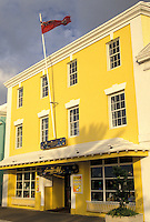 Bermuda, Hamilton, Gift shop along Front Street in the town of Hamilton in Bermuda.