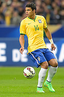 Thiago Silva (Brasile) <br /> Parigi 26-03-2015 Stade De France Calcio Football 2014/2015 Amichevole Francia Brasile <br /> Foto Panoramic / Insidefoto
