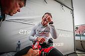 #60: Meyer Shank Racing w/Curb-Agajanian Acura DPi, DPi: Dane Cameron, pit stop, sweat, heat, exhaustion
