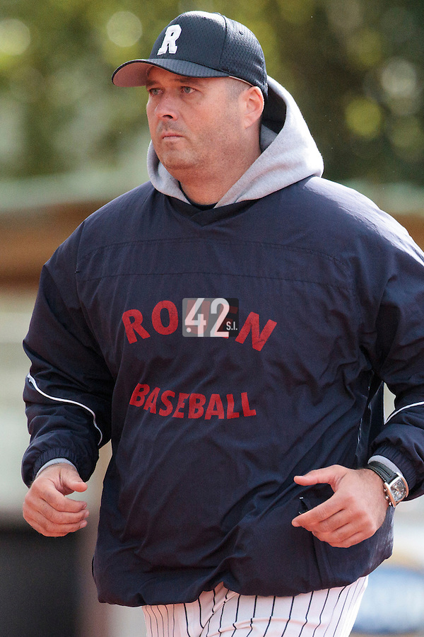 16 October 2010: Team Manager of Rouen Robin Roy is seen during Rouen 16-4 win over Savigny, during game 1 of the French championship finals, in Savigny sur Orge, France.