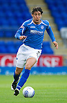 St Johnstone FC...Season 2011-12.Francisco Sandaza.Picture by Graeme Hart..Copyright Perthshire Picture Agency.Tel: 01738 623350  Mobile: 07990 594431
