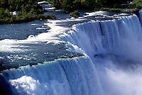 Niagara Falls, NY, waterfalls, New York, American Falls at Niagara Falls.