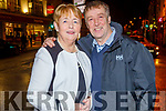 Eddie and Mary Horgan from Listowel celebrating their 40th wedding anniversary on Saturday in Tralee.