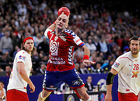 Ivan Nikcevic during men`s EHF EURO 2012 handball championship final game between Serbia and Denmark in Belgrade, Serbia, Sunday, January 29, 2011.  (photo: Pedja Milosavljevic / thepedja@gmail.com / +381641260959)