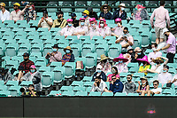 8th January 2021; Sydney Cricket Ground, Sydney, New South Wales, Australia; International Test Cricket, Third Test Day Two, Australia versus India; covid safe fans spaced apart watch the game