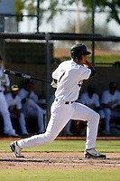 Grant Green - Oakland Athletics 2009 Instructional League. .Photo by:  Bill Mitchell/Four Seam Images..