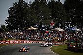 Scott Dixon, Chip Ganassi Racing Honda, 1Will Power, Team Penske Chevrolet