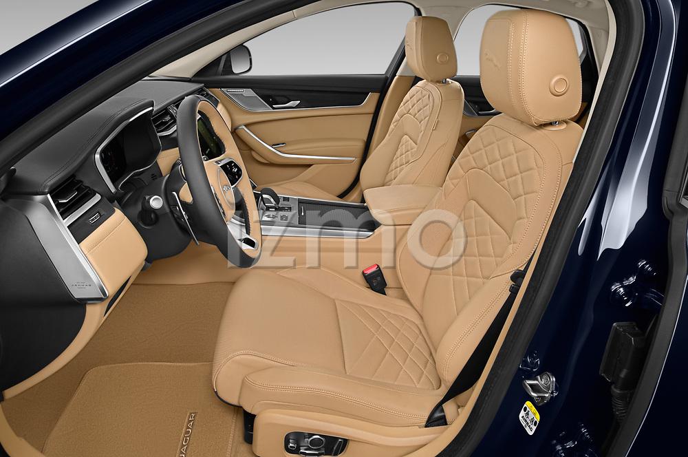 Front seat view of 2021 Jaguar XF SE 4 Door Sedan Front Seat  car photos