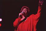 Patti Austine, May, 1982 : Patti Austine performing in Tokyo Japan.
