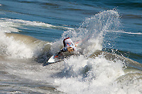 The 2011 ASP Prime Event; US Open of Surfing action at Huntington Beach Pier South Side in Huntington Beach, California on Sunday August 7, 2011.