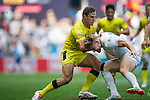 England vs Australia during the HSBC Sevens Wold Series Plate Semi Finals match as part of the Cathay Pacific / HSBC Hong Kong Sevens at the Hong Kong Stadium on 29 March 2015 in Hong Kong, China. Photo by Juan Manuel Serrano / Power Sport Images