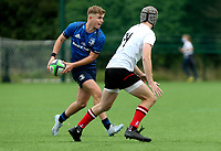 Saturday 5th September 2021<br /> <br /> Luka Hasset during U19 inter-pro between Ulster Rugby and Leinster at Newforge Country Club, Belfast, Northern Ireland. Photo by John Dickson/Dicksondigital