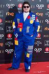 Brays Efe attends red carpet of Goya Cinema Awards 2018 at Madrid Marriott Auditorium in Madrid , Spain. February 03, 2018. (ALTERPHOTOS/Borja B.Hojas)