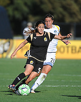 Tina DiMartino, Camille Abily. The Los Angeles Sol defeated FC Gold Pride, 2-0, at Buck Shaw Stadium in Santa Clara, CA on May 24, 2009.