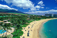 Kaanapali beach, west coast Maui