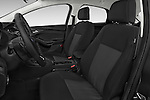 Front seat view of a 2015 Ford Focus Trend 5 Door Hatchback 2WD Front Seat car photos