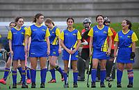 Tauranga v Bay Of Plenty. 2021 National Women's Under-18 Hockey Tournament day six at National Hockey Stadium in Wellington, New Zealand on Friday, 16 July 2021. Photo: Dave Lintott / lintottphoto.co.nz https://bwmedia.photoshelter.com/gallery-collection/Under-18-Hockey-Nationals-2021/C0000T49v1kln8qk