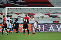 9th September 2020; Arena da Baixada, Curitiba, Brazil; Brazilian Serie A, Athletico Paranaense versus Botafogo; Victor Luis of Botafogo celebrates his goal in the 77th minute 0-1