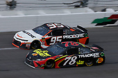 Monster Energy NASCAR Cup Series<br /> The Advance Auto Parts Clash<br /> Daytona International Speedway, Daytona Beach, FL USA<br /> Sunday 11 February 2018<br /> Martin Truex Jr., Furniture Row Racing, 5-hour ENERGY/Bass Pro Shops Toyota Camry Kasey Kahne, Leavine Family Racing, Procore Chevrolet Camaro<br /> World Copyright: Matthew T. Thacker<br /> LAT Images