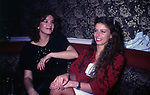 STEFANIA E AMANDA SANDRELLI<br /> ROMA 1991