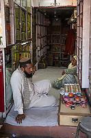 Jaipur, Rajasthan, India.  Bracelet Vendor--Singly or by the Box.