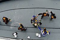 IMSA Continental Tire SportsCar Challenge<br /> BMW Endurance Challenge at Daytona<br /> Daytona Beach, Florida, USA<br /> Friday 26 January 2018<br /> #81 BimmerWorld Racing, BMW 328i, ST: Nick Galante, Devin Jones, #21 Bodymotion Racing, Porsche Cayman, ST: Max Faulkner, Jason Rabe, #55 Murillo Racing, Porsche Cayman, ST: Tim Probert, Brent Mosing, Justin Piscitell celebrate in victory lane<br /> World Copyright: Scott R LePage<br /> LAT Images<br /> <br /> ref: Digital Image _SRL1424