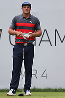 29th August 2021; Owens Mills, Maryland, USA;  Bryson DeChambeau (USA) looks on from the 1st tee during the final round of the BMW Championship on August 29, 2021, at Caves Valley Golf Club in Owings Mills, MD.
